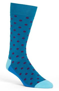 Happy Socks Dot Socks available at #Nordstrom