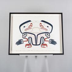Original Painting by Tsimshian artist David Boxley
