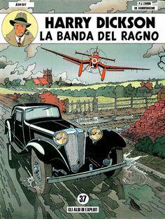 Vintage Comic Books, Vintage Comics, Comic Books Art, Vintage Posters, Comic Art, Gravure Illustration, Car Illustration, F1 Posters, French Cartoons