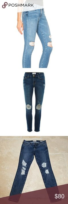 frame denim le skinny de jeanne Like new condition. Only worn a few times Frame Denim Jeans Skinny