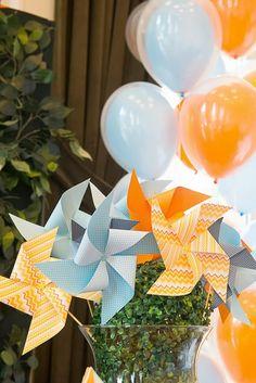 Pinwheels and Kites Party with So Many Cute Ideas via Kara's Party Ideas   KarasPartyIdeas.com #PinwheelsParty #KiteParty #PartyIdeas #Supplies (8)