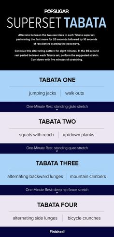This at-home Tabata workout is a great way to burn calories and fat while building strength. You can print this  workout and do it just about anywhere.