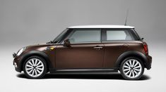 2010 Mini Cooper Mayfair in Hot Chocolate. Not really sure about those hood stripes, but everything else? Yes.