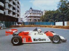 Philippe Alliot - Martini 001 BMW/Mader - BMW France (ORECA) - XLIII Grand Prix Automobile de Pau - 1983 European Championship for F2 drivers, round 6