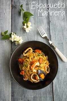 KOOKING: Espagueti Marinera