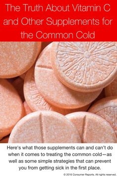 When a cold strikes your first reaction may be to reach for a remedy that will ease symptoms or shave a few days off your illness. And for millions of Americans each year, that includes trying dietary supplements, including echinacea, vitamin C, and zinc. Here's what those supplements can and can't do when it comes to treating the common cold—as well as some simple strategies that can prevent you from getting sick in the first place. Plus, advice on treatments that can relieve cold symptoms.