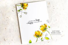 A simple card done beautifully.