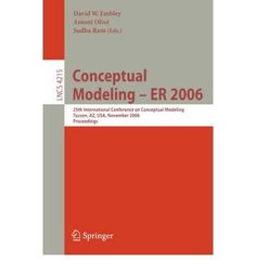 Introducing Conceptual Modeling  ER 2006 25th International Conference on Conceptual Modeling Tucson Az USA November 69 2006 Proceedings Lecture Notes in Computer Science Paperback  Common. Buy Your Books Here and follow us for more updates!
