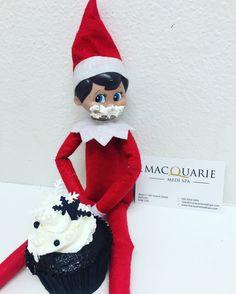 Ollie our Christmas Elf has been a little bit naughty! www.macquariemedispa.com  Bathurst & Orange NSW