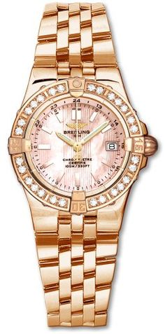 NEW BREITLING WINDRIDER STARLINER WOMENS WATCH « Holiday Adds