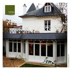 1000 images about maison ossature bois extension en bois terrasse en bois on pinterest. Black Bedroom Furniture Sets. Home Design Ideas