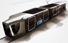 Tramway of the futur by Extreme Design