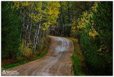 Beecher Road... Marinette County, Wisconsin.