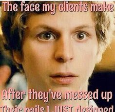 That face tho! Funny nail technician quotes and memes Nail Polish Quotes, Polish Memes, Nail Quotes, Tech Quotes, Nail Memes, Nail Room, Skin Care Spa, Nail Technician, Love My Job