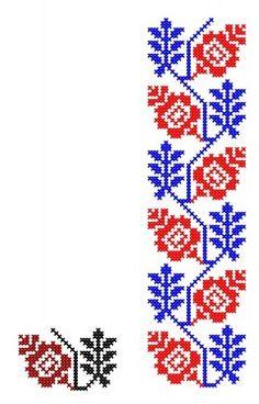 Cross Stitch Borders, Cross Stitching, Cross Stitch Patterns, Diy And Crafts, Paper Crafts, Palestinian Embroidery, Handicraft, Needlework, Knitting