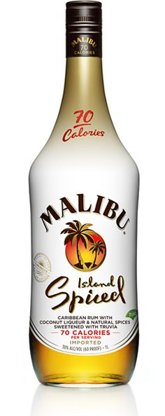 Best malibu caribbean coconut rum liqueur recipe on pinterest for Mix spiced rum with