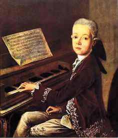 Happy birthday to one of the world's best composers, Wolfgang Amadeus Mozart! (27 January 1756)