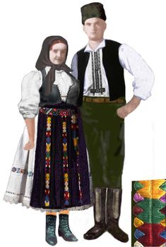 """Arad, """"Zadie"""" in partea de nord – 2020 World Travel Populler Travel Country Folk Embroidery, Embroidery Patterns, West Plains, Popular Costumes, Antique Quilts, Historical Clothing, Crochet Yarn, Traditional Outfits, Fashion Art"""