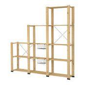 IKEA GORM Montant surélévateur 3sections bois de conifre (réf.: S39873874)