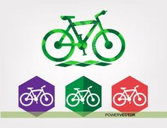 Bike clipart Bicycle clip art Bike icon low poly by PowerVector Bicycle Clips, Bike Icon, Bird Clipart, Coreldraw, Eps Vector, Low Poly, Vinyl Decals, I Shop, Clip Art