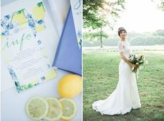 Lemon & Lavender Wedding Shoot ft. #DonnaMorgan bridesmaid dresses in Lemonade-- now on FINAL SALE!//  Tiffany Joyce Photography #fashion #bridal