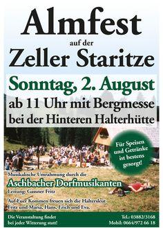 Almfest Zeller Staritze