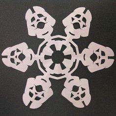 Darth Vader snowflake