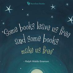 """Some books make us free"" via Barefoot Books"