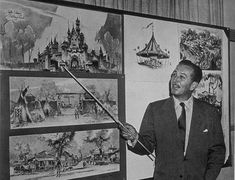 """""""Mickey and I started out, the first time, many, many years ago,"""" Walt said. """"We've had a lot of our dreams come true. Now we want you to share with us our latest and greatest dream."""" - Walt Disney"""