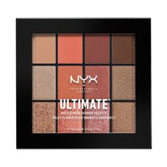NYX ultimate multi-finish eyeshadow palette in warm rust 20$ (you can get them in shapers + walmart) http://www.nyxcosmetics.ca/en/ultimate-multi-finish-shadow-palette/NYX_453.html?cgid=New