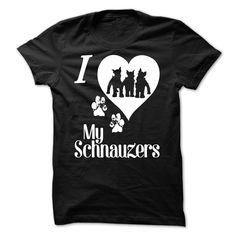 Love Your Schnauzers T-Shirts, Hoodies. Get It Now ==> https://www.sunfrog.com/Pets/Love-Your-Schnauzers.html?41382