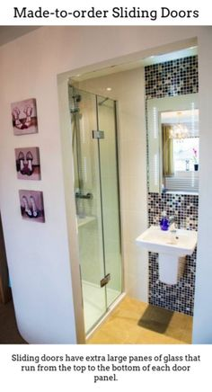 Amazing what you can fit into a small space. Sliding cavity doors to the bathroom - genius! Tiny Bathrooms, Ensuite Bathrooms, Tiny House Bathroom, Bathroom Renos, Laundry In Bathroom, Bathroom Layout, Beautiful Bathrooms, Small Bathroom, Shower Sliding Glass Door