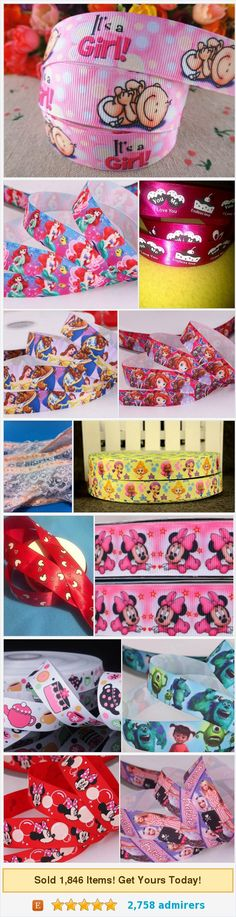 Ribbons by @UniversalIdeas  #etsy shop #ribbon https://www.etsy.com/shop/Universalideas?ref=l2-shopheader-name&section_id=12729687