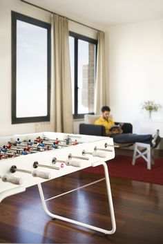 Shop RS Barcelona Foosball Table and other RS Barcelona contemporary furniture at HORNE, where we present authentic, contemporary furnishings. Outdoor Foosball Table, Outdoor Tables, Indoor Outdoor, Contemporary Games, Contemporary Furniture, Table Football, Barcelona, Office Games, Table Games