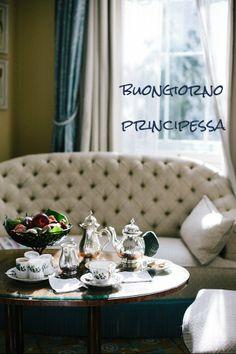 good morning   buongiorno principessa