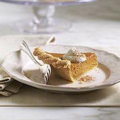 Pumpkin Pie with Spiced Walnut Streusel (Le Cordon Bleu) | DiyBaker.com