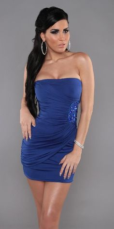 6354cc5475 Alkalmi női ruha oldalt gyöngyös Egy méret, 11240.- http://csabitsel