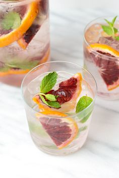 BLOOD ORANGE MINTKeep Yourself healthy for this summer. When it comes to infused water…anything works! All flavor combinations are Good! Grapefruit Margarita Recipe, Margarita Recipes, Infused Water Recipes, Fruit Infused Water, Fruit Water, Healthy Drinks, Healthy Eating, Clean Eating, Healthy Fats