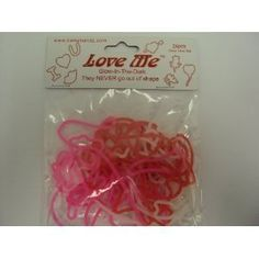 Bama Bandz Love Me Glow in the Dark Bands Rubber Bandz Band Wristband (24) -- Visit the image link more details.