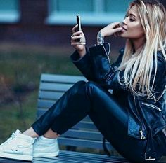#lady #sexy #leathertrousers #black #motorcycleladies #bikergirl #leatherpants #streetstyle #sexyoutfit #blackjacket #leatherbikerjacket #blackfashion #blk #highheels #blackcrop #preppychic #croppedblackpants #black+black #blackleather #trending #bikewoman #rocknroll #style-hacks #chic #Beauty #vintageleatherlook #skinnyleatherlook #motojacket #rockergirl #cool