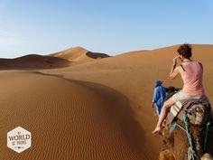 Tips om je kamelentocht door de Sahara (Marokko) goed voor te bereiden lees je op www.myworldisyours.nl/places/merzouga (onderstaande link)!