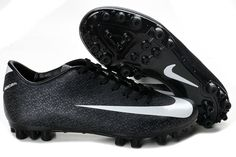 online retailer 81804 127d4 Chaussures de foot nike Mercurial Vapor Superfly III FG Noir Blanc pas cher  Cheap Soccer Cleats