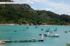 Calheiros Beach, Governador Celso Ramos, Santa Catarina, Brazil.