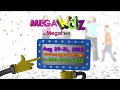MegaKidz at MegaFest - Join us in beautiful Dallas, TX for MegaFest 2013. August 29-31  For more info visit www.mega-fest.com