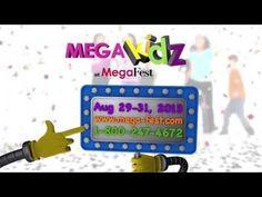 MegaKidz at MegaFest - Join us in beautiful Dallas, TX for MegaFest 2013. August 29-31  For more info visit www.mega-fest.com