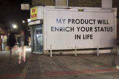"""lessons in advertising vol. 5"" - Mobstr graffiti"