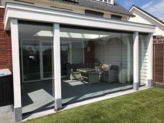 Verande mobili ~ Veranda met lichtstraat uchelen veranda van hout veranda