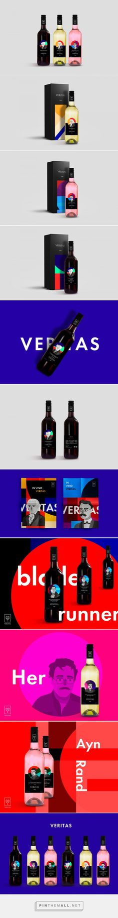 Veritas Wine - Packaging of the World - Creative Package Design Gallery - http://www.packagingoftheworld.com/2017/10/veritas.html