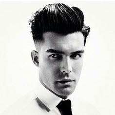 men with suave hair