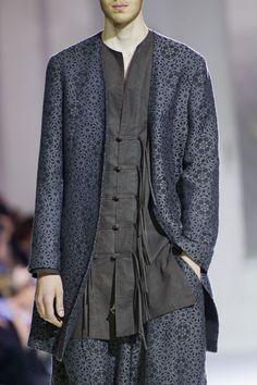 monsieurcouture:Yohji Yamamoto S/S 2015 Menswear Paris Fashion...